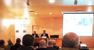 Inauguración de la jornada por Isaac Pola, director general de Minería y Energía del Principado de Asturias